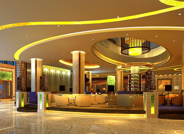 X州XX世界贸易中心洲际酒店